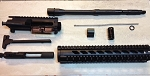 14.5 inch complete upper build kit with 12 inch free float rail