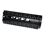 7 inch free float hand guard-diamond hole cut