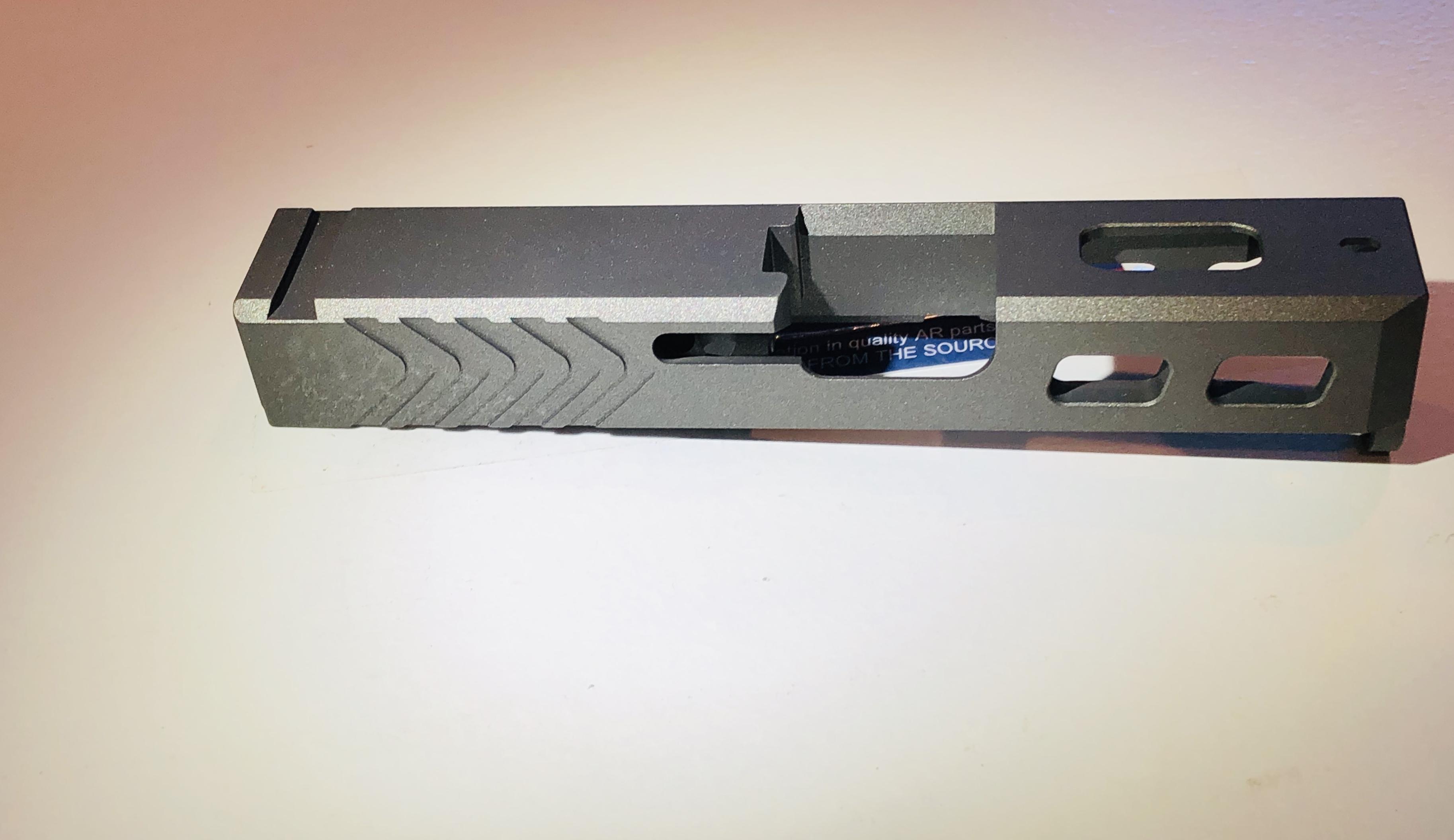 Glock 26 Tungsten Color Fits Gen 1 4
