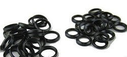 5/8x24 black crush washers in black phosphate