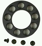 Free Float End cap with 4 hole to fitments in Black