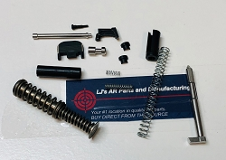 Glock 26 upper parts kit with guide rod - fits gen 1,2,3, and 4