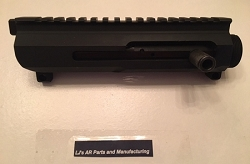 LJ's AR15 Billet side charging upper receiver with nitride Bolt carrier group AR-15 - 5.56/.223/300 AAC
