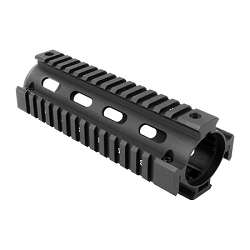 Carbine 2 piece drop in black hand guard