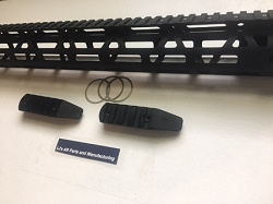 AR15- 15 inch ultra slim Poly hole pattern MLOK rail - LJ's