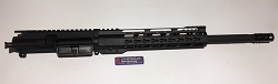 Ar15- 5.56/223 Upper with 16 inch barrel and 12 inch 1/4 ultra slim key mod rail - minus BCG and Charging handle.  (COPY)