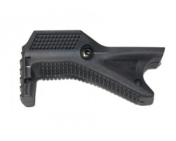 ANGLED POLYMER GRIP FOR PICATINNY RAIL (Black)