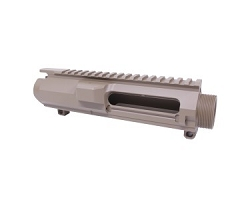 308 stripped BILLET upper receiver in Flat Dark Earth color- DPMS style