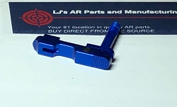 LJ's Ambidextrous extended magazine Release  - gen 3 - anodized in BLUE