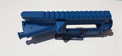 BLUE AR15 Upper receiver with BLUE forward assist and blue dust cover-- 5.56/.223/7.62x39/300 AAC blackout/ 6.8/ etc