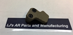 Enlarged Extended Mag Release  Button AR10 or AR15 platform-- IN BLACK