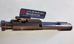 LJ's AR15 complete Nitride Rose Gold bolt carrier group- 5.56/.223/300 AAC blackout.