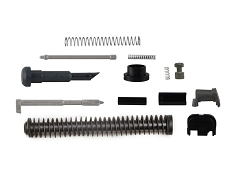 upper parts kit with recoil spring for a GLOCK 19  included --parts for the 9mm  GEN 1-3