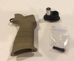 AR15 EXTREME RIFLE GRIP WITH BUILT IN SLING HOOK FDE