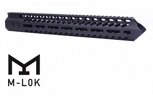 "AR10 - 15"" Spearhead  ULTRA LIGHTWEIGHT THIN M-LOK FREE FLOATING HANDGUARD 7.62x51 / 308"