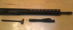 AR10- 16 Inch .308 DPMS Complete Billet upper  Rifle Kit with an ultra slim 12 inch  Free Float key mod hand guard