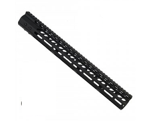 AR10- 16.5 Inch ULTRA LIGHTWEIGHT THIN M-LOK FREE FLOATING HAND GUARD  - AR10/ 7.62x51/ 308