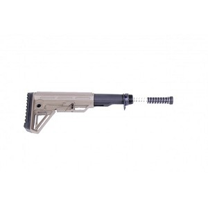 AR15 - 6 position stock and mil spec buffer tube kit- Extreme Stock kit in flat dark earth color