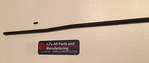 NITRIDE Mid Length gas tube WITH roll pin - LJ's AR15 or AR10 11.75 inches