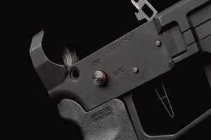 Mag release button AR15