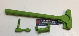 AR15 zombie green Charging Handle with Standard Latch with Ambidextrous magazine release and Get 2 Ambidextrous safety
